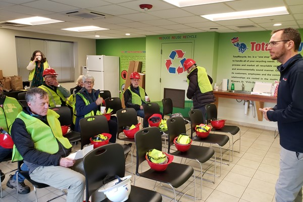 Recycling Facility Tour - Fall 2019