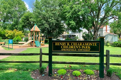 Chiaramonte Park Closed for Improvements