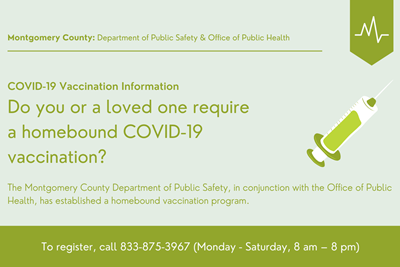 Homebound COVID Vaccinations